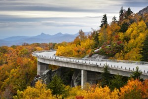 Blue Ridge Parkway in Autumn
