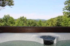 Mountain View Delight hot tub