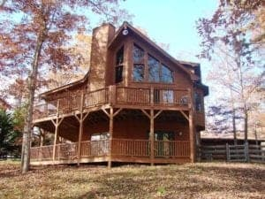 2 bedroom cabin in Murphy NC.
