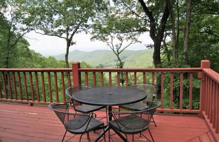 buddy's mountain view cabin rental in murphy nc